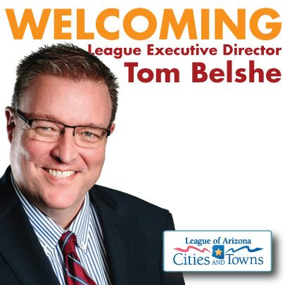 Welcoming Tom Belshe